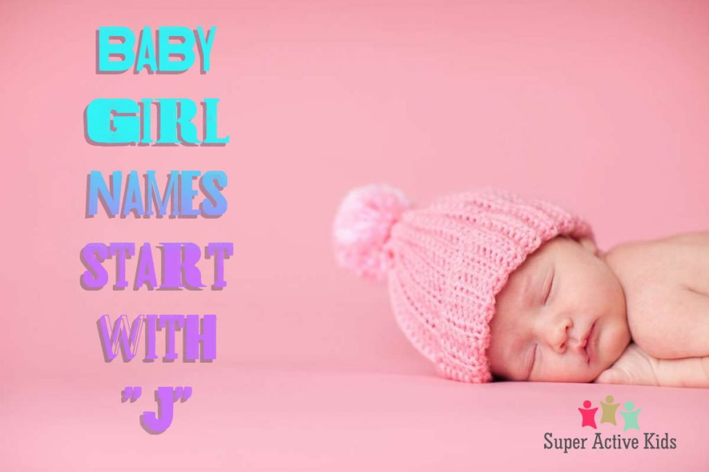 Baby Girl Name Start with J